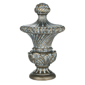 "Venetian Finial, fits 1"" Iron Rod"