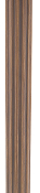 "4 Ft. Fluted Wood Pole, 2-1/4"" Diam"