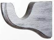 wood drapery rod bracket