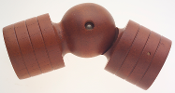 Wood Swivel Socket, 2""