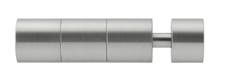 "Pescara Finial, fits 1-1/8"" Rail"