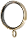 "Flat Contemporary Ring, fits 1"" Iron Rod"