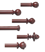 Double Plantation 1-3/8' Wood Pole Set
