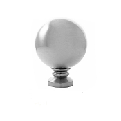 "Sphere Finial, fits 1-1/8"" Rod"