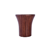 "Wood Avalon Finial, fits 1-1/8"" Rod"