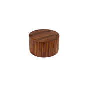 "Wood Disk Endcap/Finial, fits 1-1/8"" Rod"