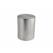 "Metal Cylinder Finial, fits 1-1/8"" Rod"